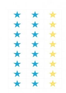 Sterne_Belohnungssystem_blau