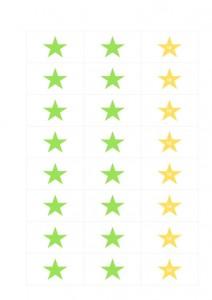 Sterne_Belohungssystem_gruen