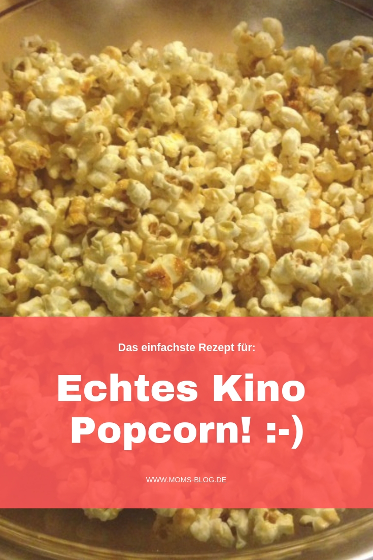 Popcorn das schmeckt wie im Kino