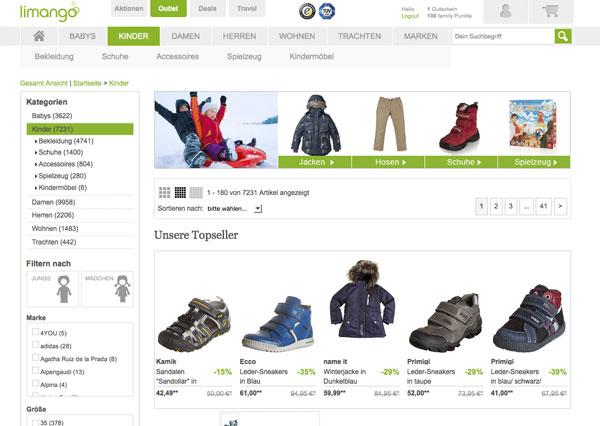 pretty nice 09eef 9bad9 Kinderschuhe und Markenkleidung günstig online kaufen
