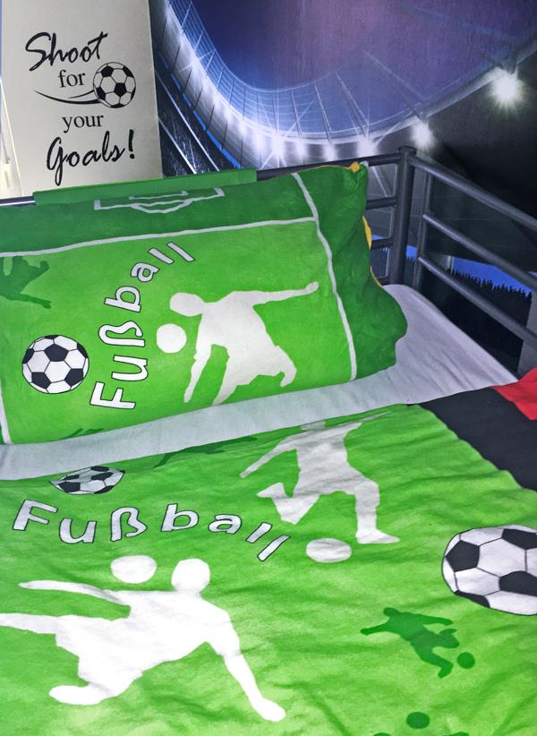 Fußball Bettwäsche Für Kleine Fußballfans