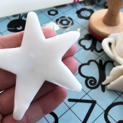 Weihnachtsbasteln Salzteig.Einfaches Fake Porzellan Rezept
