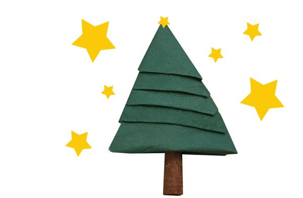 servietten_weihnachtsbaum_einfach