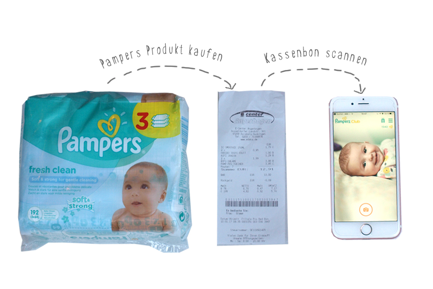 pampers club app funktioniert nicht