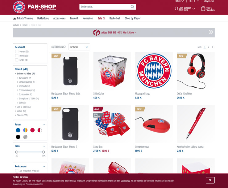 das lieblingsgesch ft meines sohnes der fc bayern m nchen fan shop inkl gewinnspiel mom s. Black Bedroom Furniture Sets. Home Design Ideas