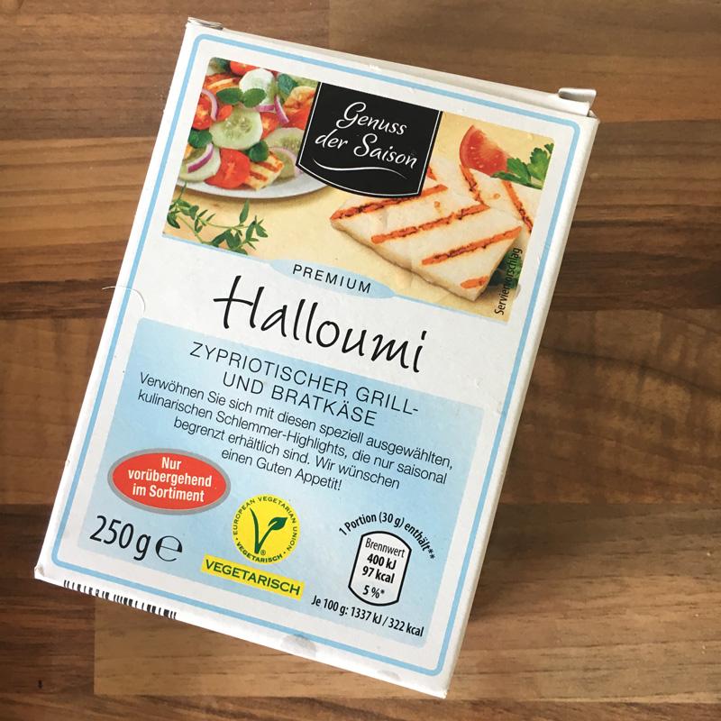 Den müsst ihr probieren: Wassermelonen - Halloumi Salat