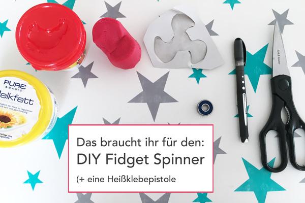 Coole Bastelidee Für Kinder Teenies Diy Fidget Spinner Bzw