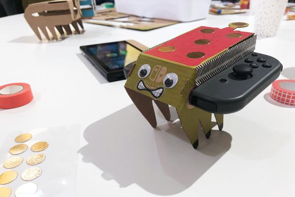 Ein individuell gestaltetes Toy-Con Modell