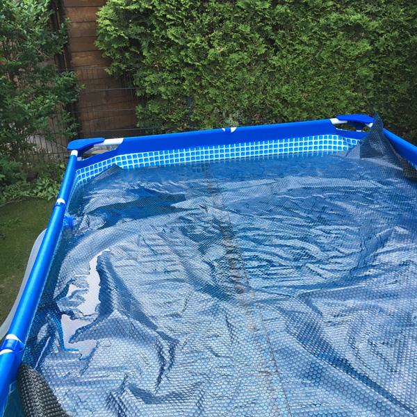Solar Abdeckplane Intex Pool