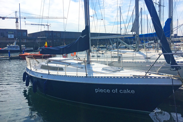 Segelboot Marina Seebrügge