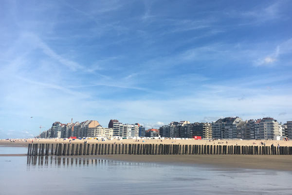 Strand in Knokke