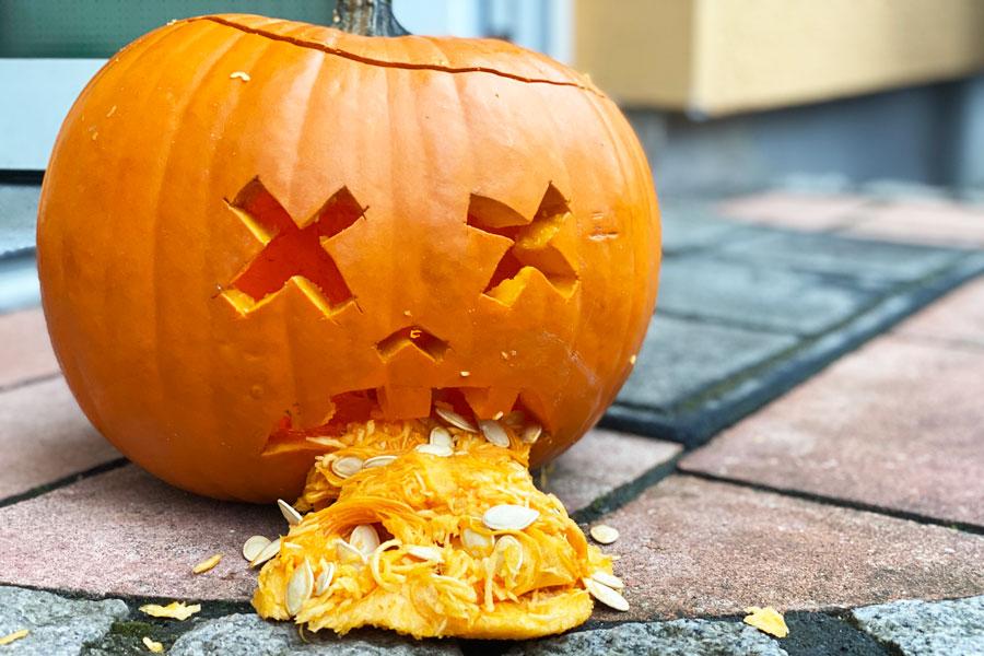 Unsere Besten Einfachsten Ideen Fur Eine Halloween Party Mit Kindern