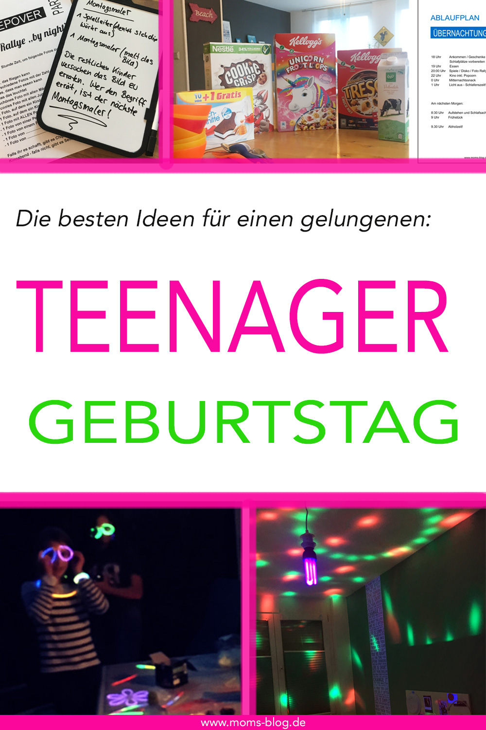 die besten ideen f r eine gelungene teenager geburtstagsparty mom s blog der familien. Black Bedroom Furniture Sets. Home Design Ideas