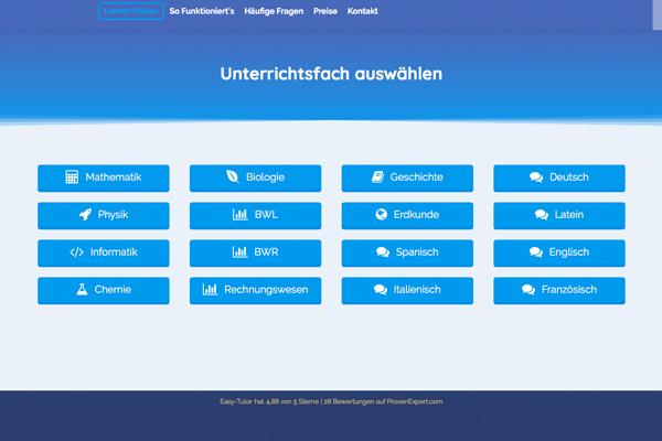 Fächer_online_nachhilfe_easytutor