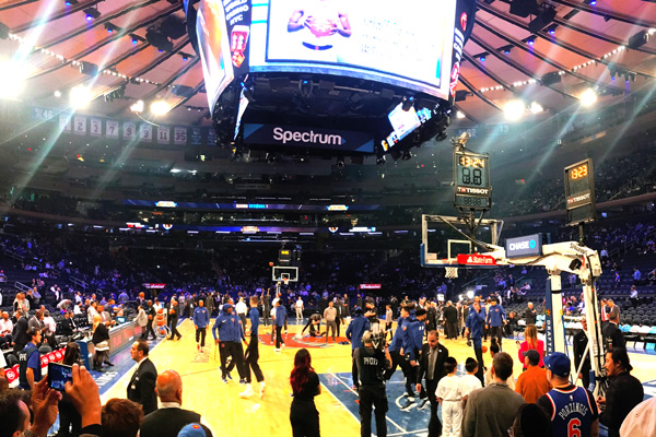 New York Knicks Spiel Tickets