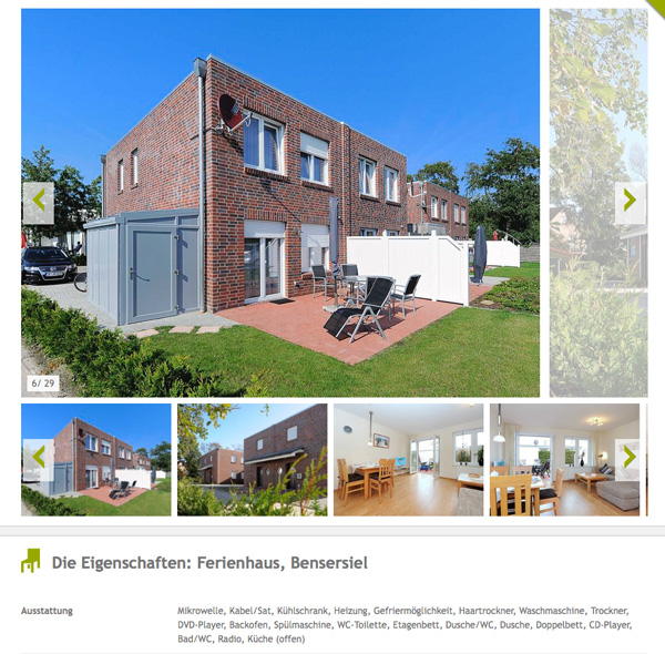 Ferienhaus Bensersiel Norsee Familie