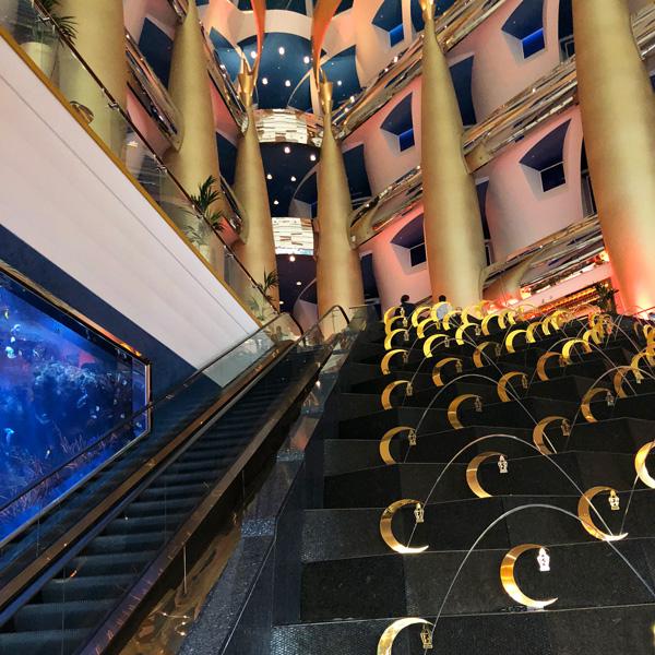 Lobby des Burj Al Arab