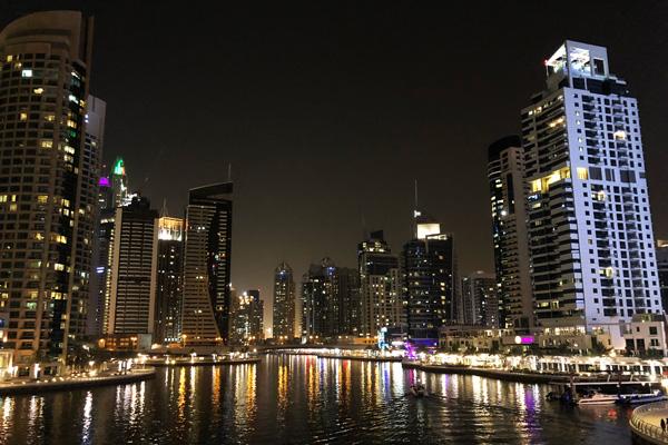Dubai Marina Skyline Tipp
