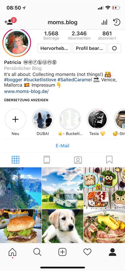 instagram mamablogger