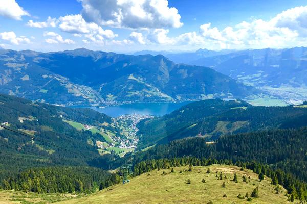 Familienurlaub Zell am See Panorama Wanderweg