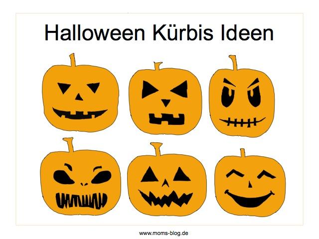 Halloween Kurbis Vorlagen Zum Schnitzen Und 6