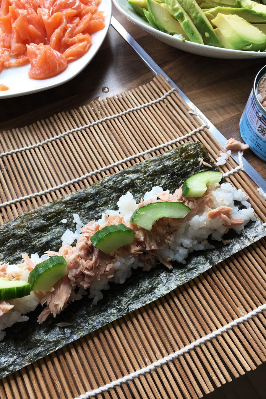 thunfisch_sushi_gurke_einfach_rezept