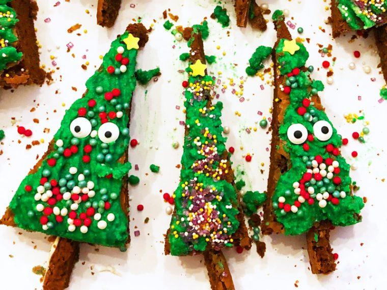Fur S Weihnachtsbuffet Der Nutella Tannenbaum