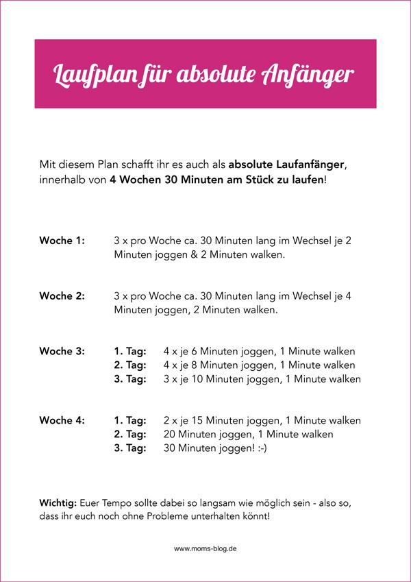 Laufplan_anfaenger-kostenlos