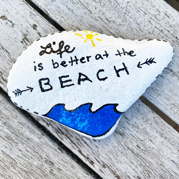 life_is_better_at_the_beach_stone_stein_rock