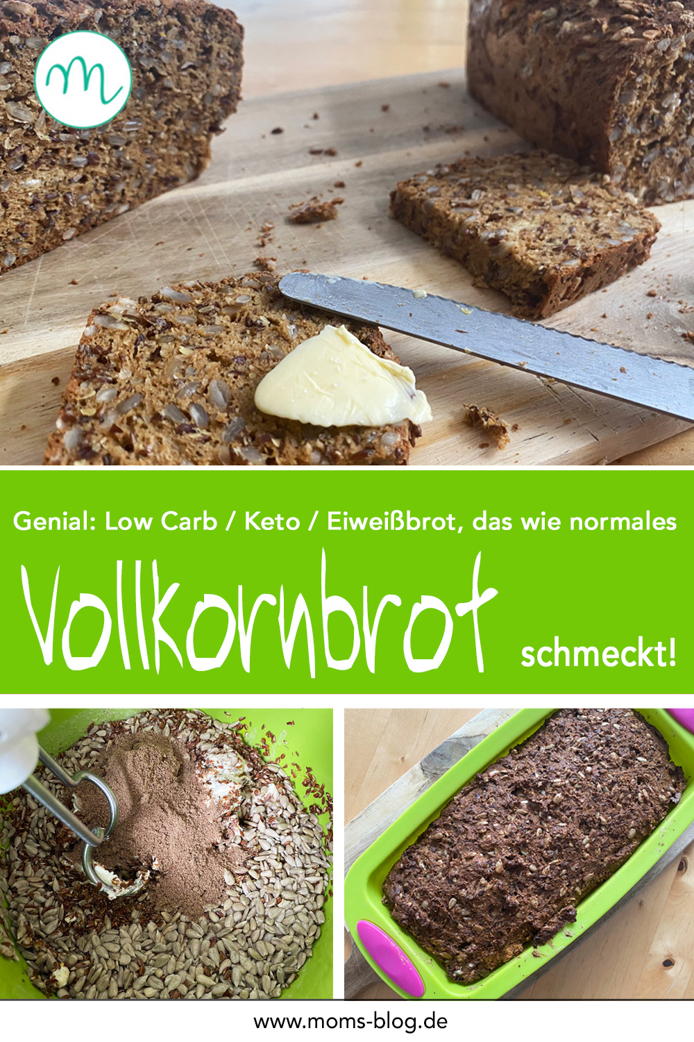Low Carb Keto Vollkornbrot