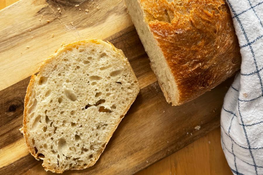 no_knead_bread_tiktok